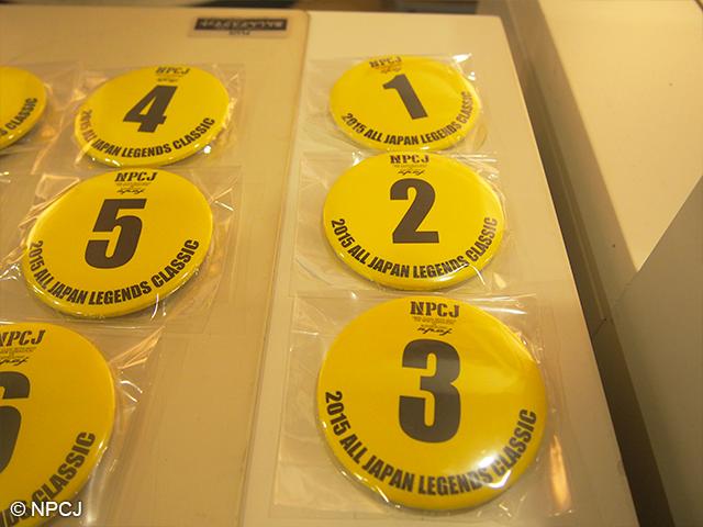 NPCJ特製缶バッチ黄色バージョン