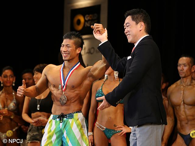フィジークツアーポイントチャンピオン大山大輔選手