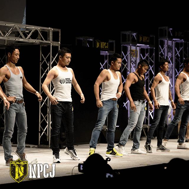 Men's Fitness model